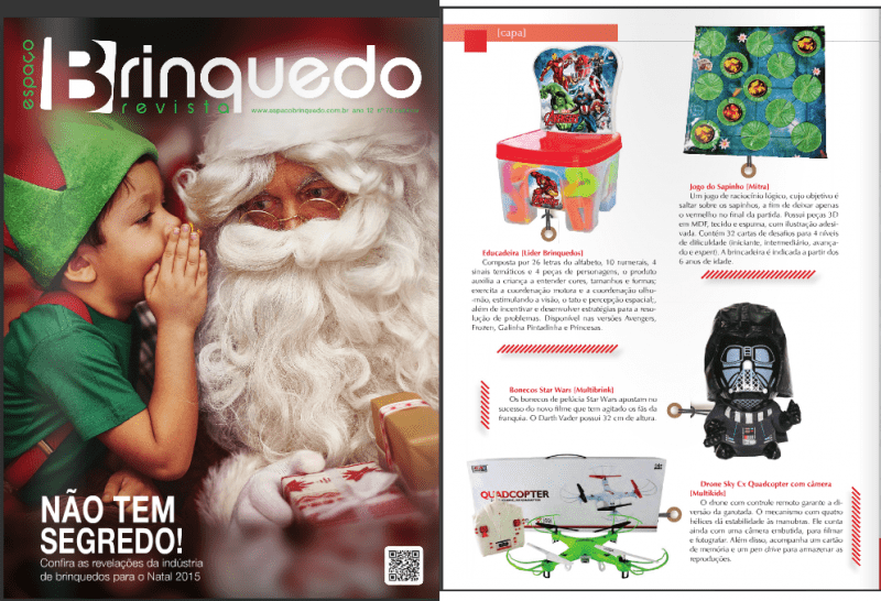 Mitra na Revista Brinquedo