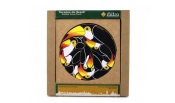 Quebra Cabeça Tucanos do Brasil
