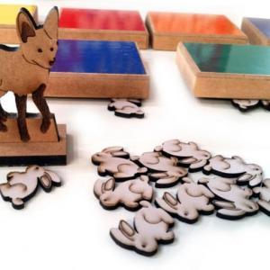 Brinquedos pedagogicos de madeira valor
