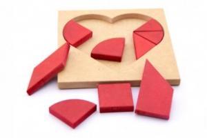 Tangran Coração